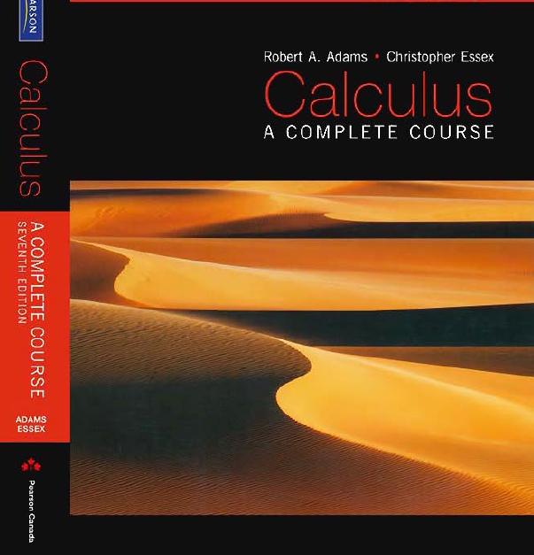 کتاب ریاضی عمومی ۱ آدامز